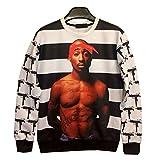 TUPAC SHAKUR Hip Hop Rap Tracksuits Jogger Sweatshirt Tee Adult
