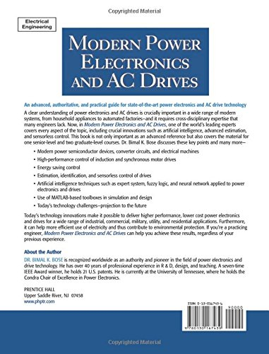 Bk Bose Modern Power Electronics And Ac Drives Pdf