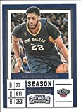 new orleans pelicans tickets - Anthony Davis New Orleans Pelicans 2017-18 Panini Contenders Draft Picks Season Ticket Basketball Card #2