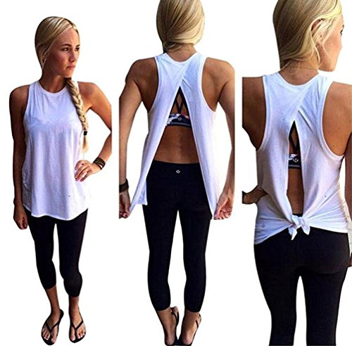 womens backless tank top - 5