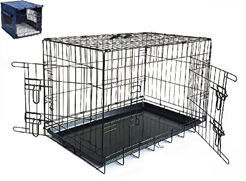 Petnap Pet, Dog, Cat Animal Crate with Accessories, Pen Car Cage for transportation, Vehicle Cage 2