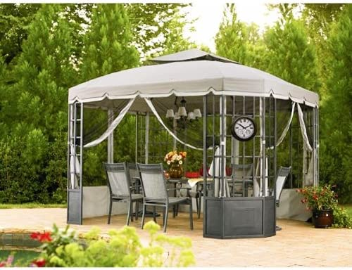 Amazon Com Garden Winds Replacement Canopy Set For The Sears Bay