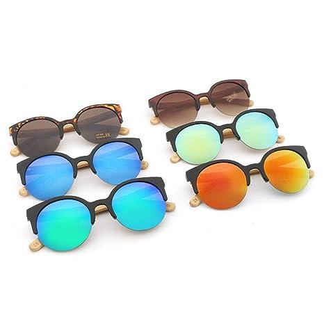 XXYHYQ Sunglasses Gafas de Sol Handmake de Madera Piernas de ...