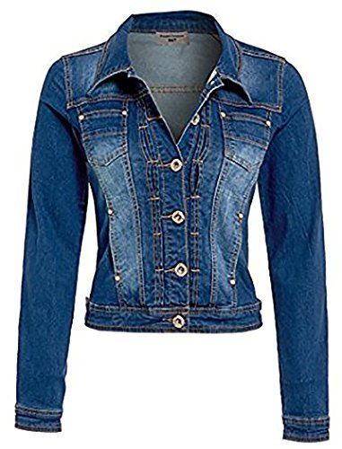 pour Veste en d Femmes NEUF jeans Y1xwf1q