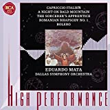 Tchaikovsky: Capriccio Italien / Mussorgsky: A Night on Bald Mountain / Dukas: The Sorcerer's Apprentice / Enescu: Romanian Rhapsody / Ravel: Bolero