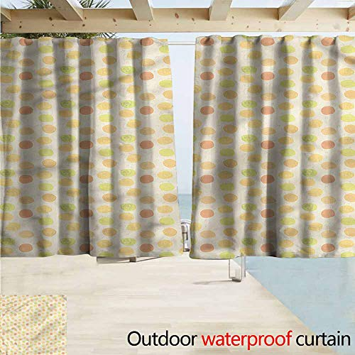 - MaryMunger Thermal Insulated Blackout Curtains Music Fifties Radio Pop Vintage Rod Pocket Curtain Panels W72x72L Inches