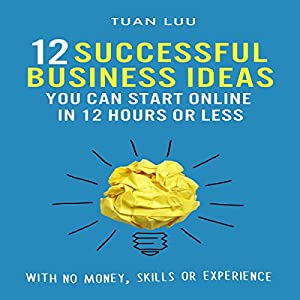 12 Successful Business Ideas You Can Start Online in 12 Hours or Less Audiobook