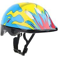 non-brand Fenteer Cascos para Niños Casco De Bicicleta De Seguridad para Múltiples Deportes para Niños Ciclismo Patinaje En Patinaje para Niñas Niños Al Aire Libre