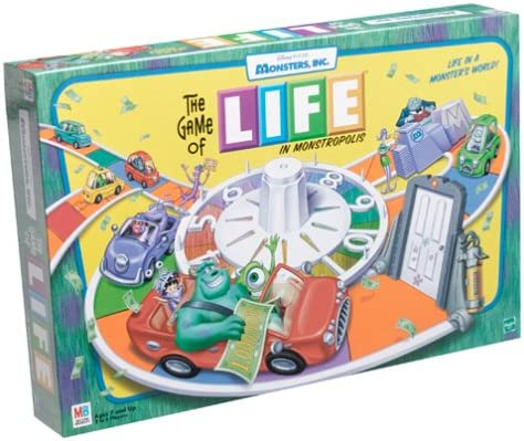 Monster,inc. Edition Life Game: Amazon.es: Juguetes y juegos