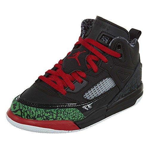 Jordan Nike Kids Spizike BP Basketball Shoe 11.5 Black