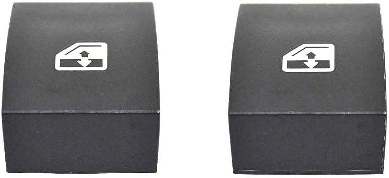 Carjoy 3511 2x Elektrischer Schalter Fensterheber Fensterheberschalter Tasten Abdeckung Steuerdeckel Für Zafira B Astra H Auto