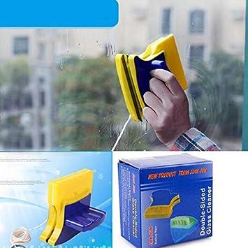Limpiaparabrisas magnético de doble cara para limpiar ventanas y ...