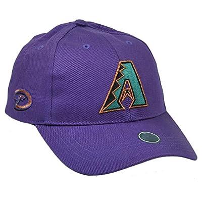 MLB Arizona Diamondbacks Youth Kids Purple Velcro Hat Cap Sport Adjustable