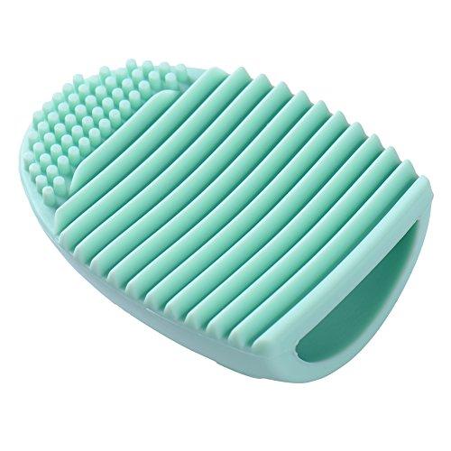 Make Up Pinsel Reinigungshandschuhe MakeUp Schrubber Reinigung Kosmetik Saubere Handschuh-Bürsten Pinselreiniger Handschuh-Tool Silikon purple/pink/hotpink/grün/weiss