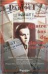 Quatre ans de cinéma (1940-1944) par Rebatet