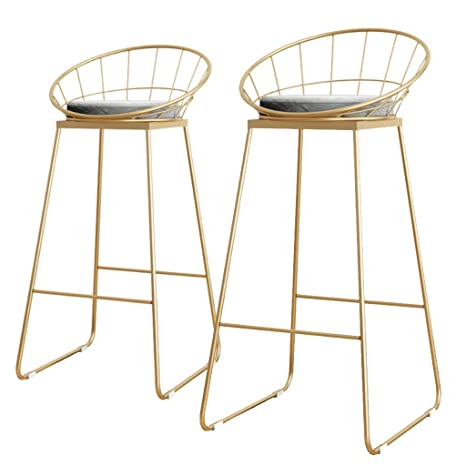Magnificent Amazon Com Yf Barstool Bar Stool 2 Piece Set Fashion Iron Beatyapartments Chair Design Images Beatyapartmentscom