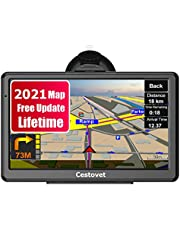 GPS Navigation for Car, 7 Inch HD Touch Screen Car GPS Voice Broadcast Navigation, Free North America Map Update Contains Canada,USA, Mexico map