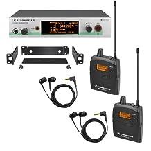 Sennheiser EW 300-2IEM G3 - In-ear Monitoring System - A-Range (516 - 558 MHz)