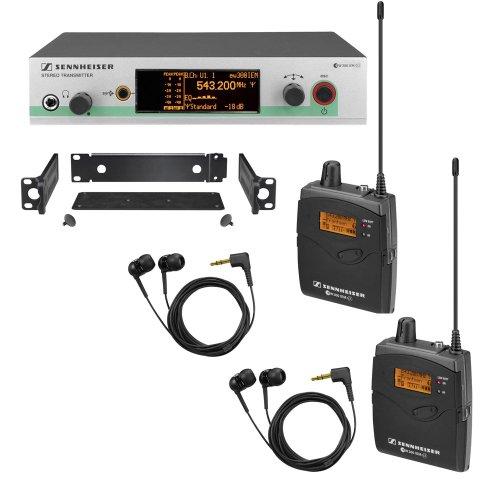 Sennheiser 300 2IEM ear Monitoring Range