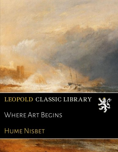 Where Art Begins pdf epub