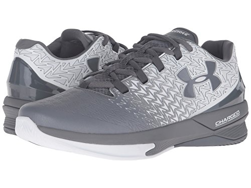 Under Armour Men's UA ClutchFit Drive 3 Low White/Graphite/Graphite Sneaker 11.5 D (M)