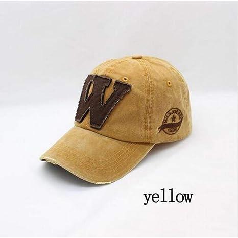 Yosrab Gorras de béisbol Bordadas de algodón con Letras Gorras ...