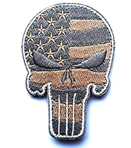 WZT Lot Military Embroidered Patche Velcro Morale Patches Cloth Fabric Badges Tactical Patche for Cap Bag Jackets Punisher Patch