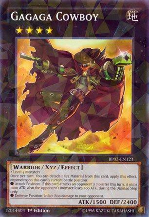 Yu-Gi-Oh! - Gagaga Cowboy  - Battle Pack 3: Monster League