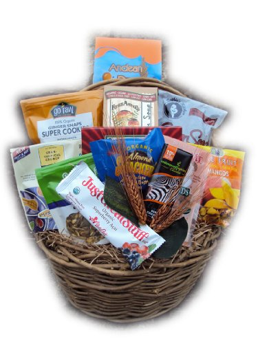 Vegan Food Gift Basket by Well Baskets
