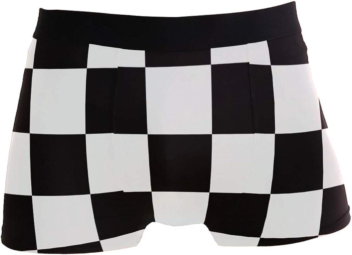 Men Boxer Briefs Polyester Underwear Men 2 Pack Boxer Briefs for Valentines Gift with Polar Bear Pattern