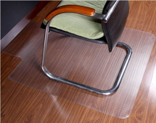 Discount Travertine Tiles - ProSource Clear Multitask Office Chair Floor Mat with Lip 48