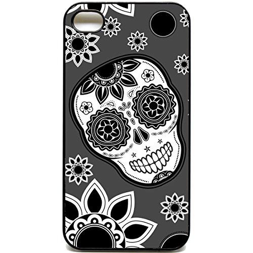 iPhone 44S mexikanischen Totenkopf Muster Cute Funky Retro Handy Case