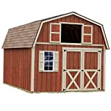 Best Barns Millcreek 12′ X 16′ Wood Shed Kit