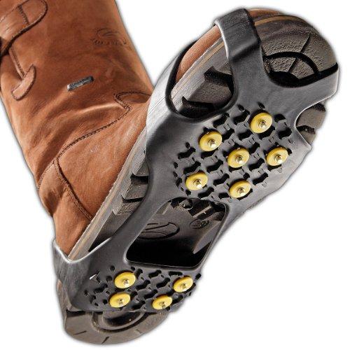 Black Canyon Schuhkrallen Shoespikes Anti Rutsch Sohle Eis, Drei Größen, schwarz, M, BC7030