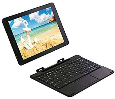 "RCA Viking Pro 10"" 2-in-1 Tablet 32GB Quad Core with Touchscreen and Detachable Keyboard Google Android 6.0"
