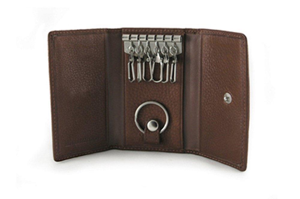 Osgoode Marley Cashmere 6 Hook Key Case - Espresso by Osgoode Marley