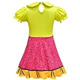 Girls Ballet Design Ballerina Style Printed Halloween Dress Cosplay Party Christmas Costumes Doll Surprise