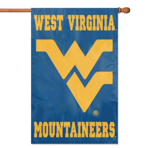 West Virginia Mountaineers Wandleuchte Banner Flag By Party Animal