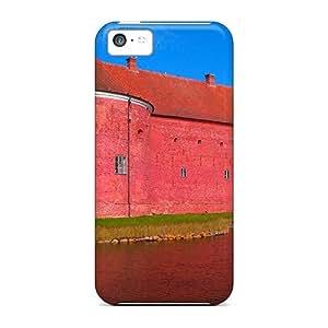 LauraKrasowski Fashion Protective Landskrona Citadel Cases Covers For Iphone 5c