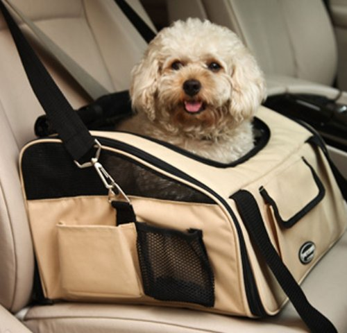 Costdot 5068S Airline Approved Dog Travel Carrier Pet Tote ()