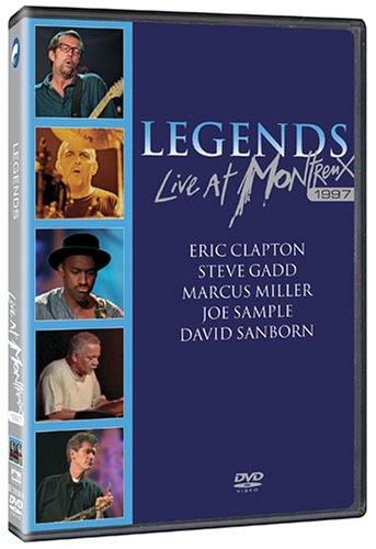 DVD : Eric Clapton - Legends: Live At Montreux 1997