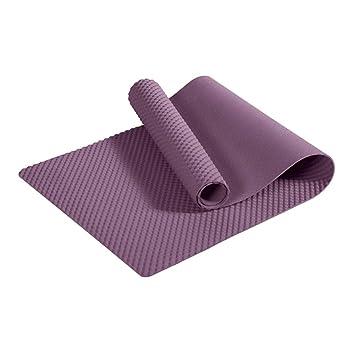 Rnalley TPE Yoga Mat - Fitness para Principiantes para Hombres Y Mujeres  Mat Antideslizante 0.6Cm 1d8a11e5e3b5