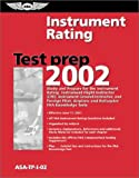 Instrument Rating Test Prep, Federal Aviation Administration, 156027431X