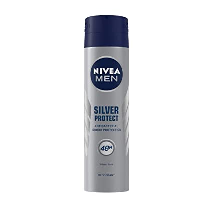 NIVEA MEN Silver Protect Antibacterial Deodorant Spray 150ml
