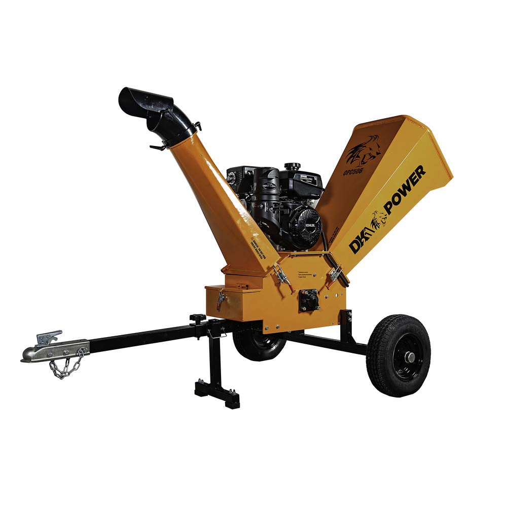 DK2 Power 14HP 6 Gas Powered Chipper Shredder with Kohler Engine OPC506