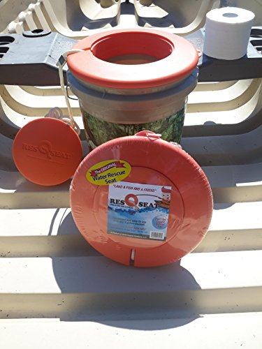 ResQseat Life Ring by Waterlogged Outdoors | Life Preserver Ring, Bucket Toilet Seat, Bucket Seat, Bucket Lid, Fishing Equipment + Tested and Proven + Fits as a 5gal Bucket Lid by Waterlogged Outdoors LLC (Image #6)