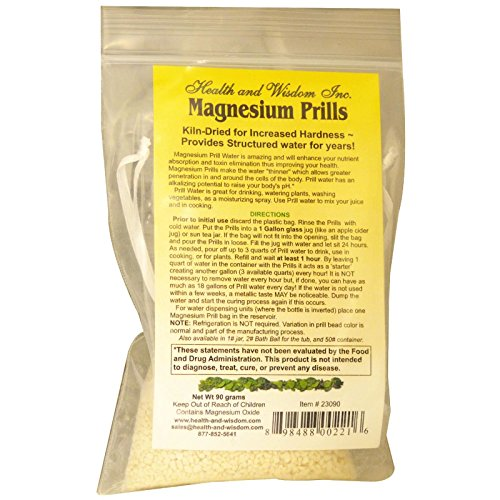 MAGNESIUM PRILLS 90 GRAMS FOR DAILY WATER