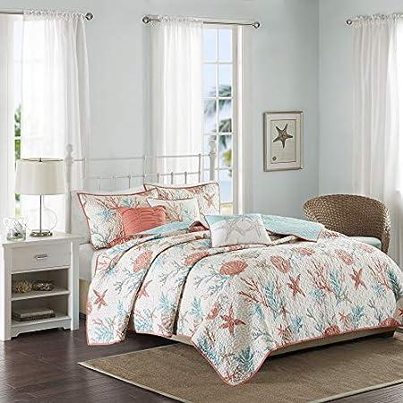 51Z6XA0dWSL._SS450_ Seashell Bedding and Comforter Sets
