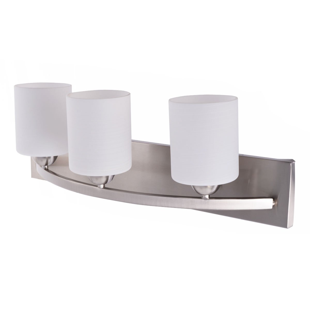 Tangkula Bathroom Vanity Lamp Shade Lamp Cover For Glass Wall Sconce  Pendant Lamp (3 Lights)     Amazon.com