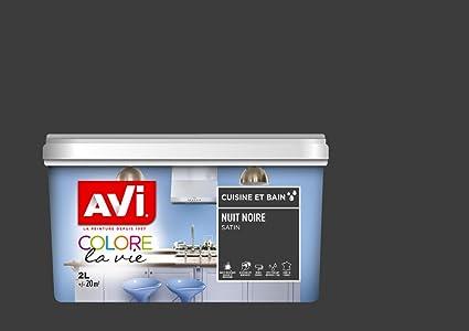 Avi 370533 colore la vita pittura cucina e bagno, Notte nera ...
